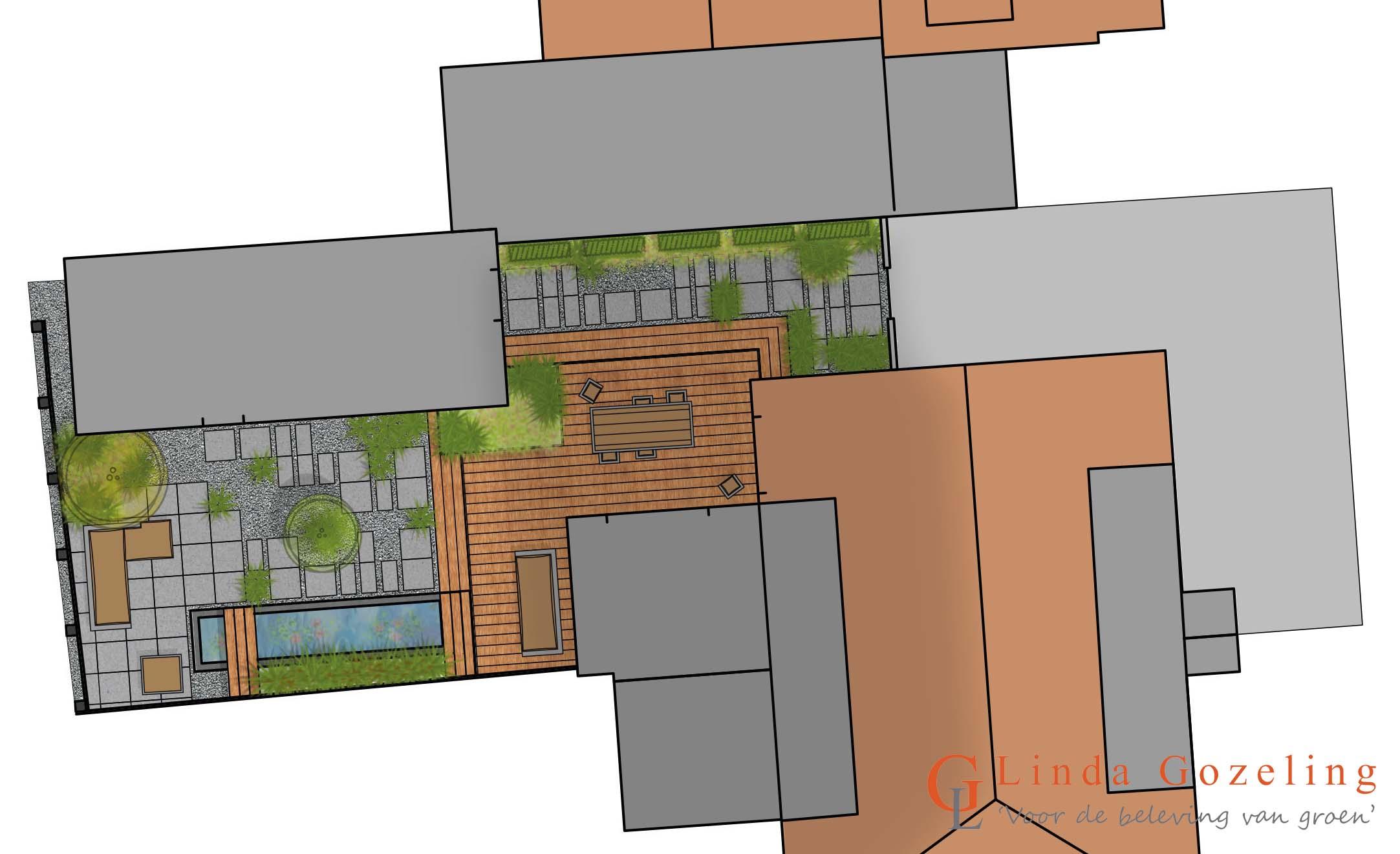 Tuinontwerp te ijmuiden voor de beleving van groen for Tuinontwerp heemstede